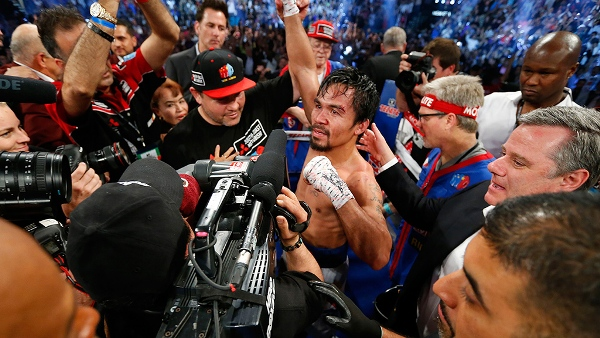 Pacquiao pourrait monter sur le ring en novembre 2014 (Photo : HBO)