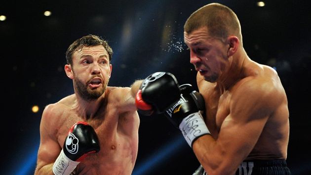 Andy Lee remporte le titre WBO des poids moyens face à Matt Korobov (Photo: Getty Images)