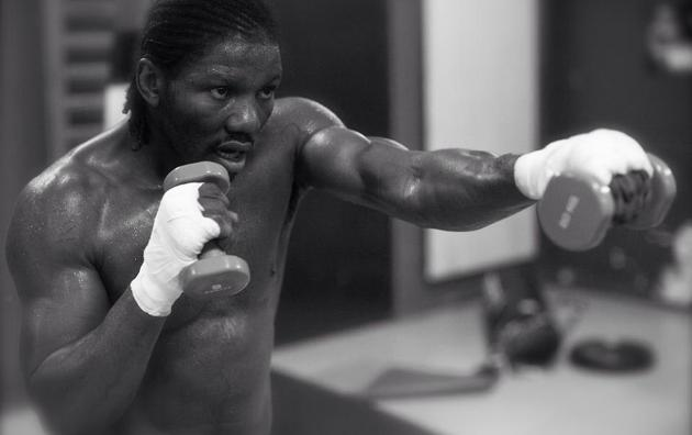 Hassan N'Dam (Photo: Boxingscene)