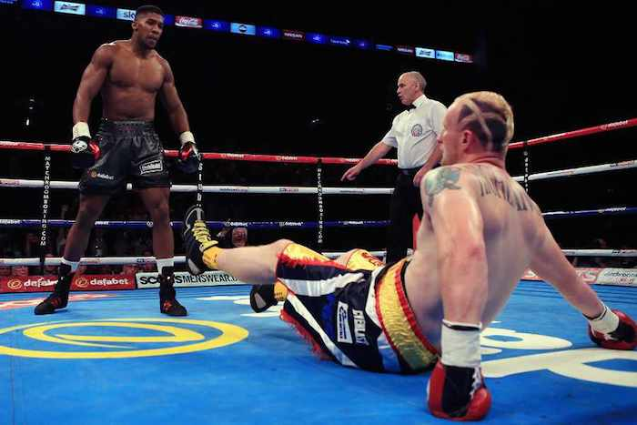 Anthony Joshua KO Gary Cornish