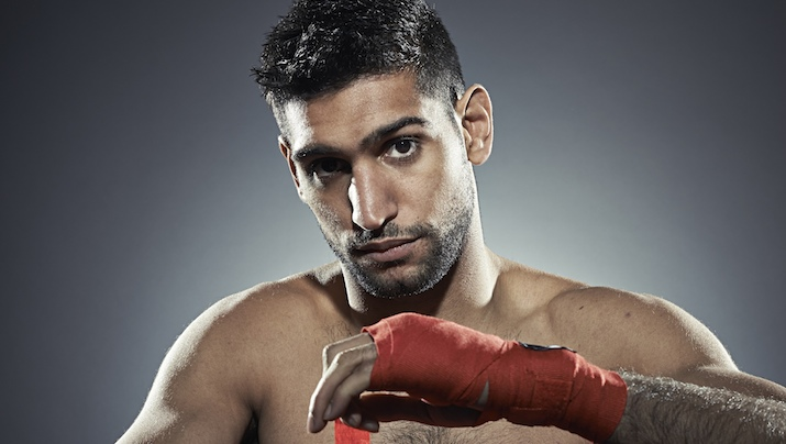 Amir Khan shot for the Observer